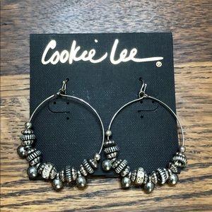 Cookie Lee Bali Treasure Beaded Hoops